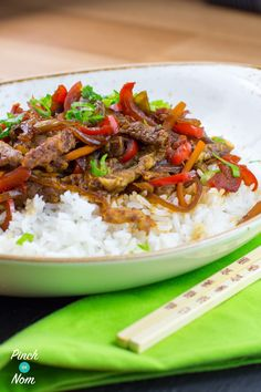 Crispy Chilli Beef | Slimming World