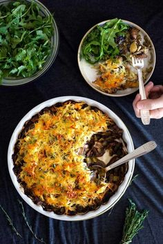 In the Kitchen With: Liberty Browne's Mushroom and Leek Pie