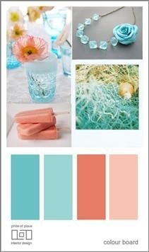 teal and coral wedding colors.  Sooo @Elizabeth Johnson  This is what Mom and I are talking about. FYI