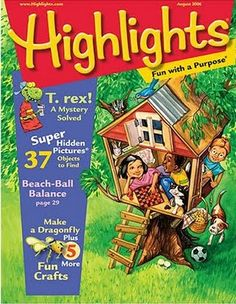 Highlights magazine wasn't just for dentist's office... I was lucky enough to have a subscription to this magazine and I loved it.  Especially Goofus & Gallant