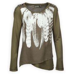 Hippe Meisjes Shirts Winter 2014 Tumble n Dry Waynesboro Groen