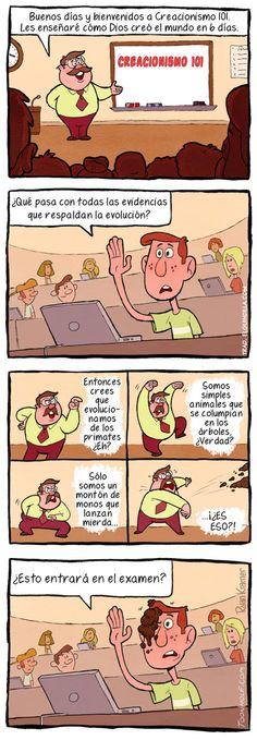 Lección de creacionismo