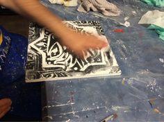 Week # 2 image transfer on panel Museum Of Fine Arts, Workshop, App, Cards, Image, Atelier, Work Shop Garage, Apps