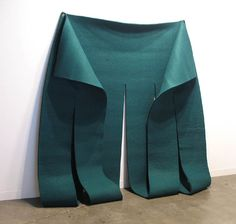 Robert Morris, Green Felt Piece, 1983-4