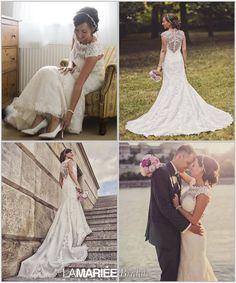 Lace Wedding, Wedding Dresses, Bride, Budapest, Fashion, Rosa Clara, Bride Dresses, Wedding Bride, Moda