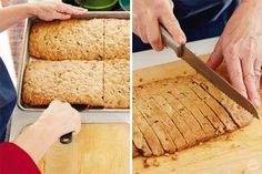 Christmas tradition: Homemade Biscotti - Think. Biscotti Cookies, Biscotti Recipe, Cookie Recipes, Dessert Recipes, Desserts, Dessert Ideas, Breakfast Popsicles, Christmas Deserts, Christmas Ideas