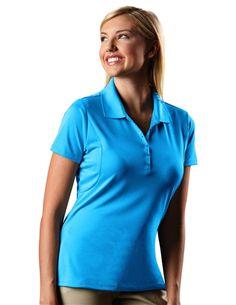 Pique Xtra-Lite 100414 Womens Essentials Golf Polo by Antigua. Buy it @ ReadyGolf.com