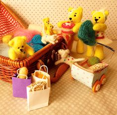 Packing his bear necessities! Teddy Bears, Toy Chest, Storage Chest, Packing, Toys, Home Decor, Bag Packaging, Activity Toys, Decoration Home
