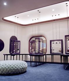 Octium jewelry store design by Jaime Hayon, Kuwait store design