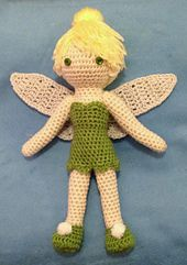 FREE TINKERBELL - Ravelry: Tinkerbell Crocheted Doll pattern by Becky Ann Smith -  Pdf Download