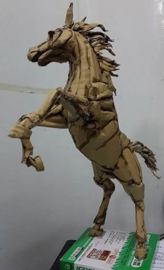 The Taiwanese Tony Stark - Iron Man and more Amazing Sculptures in Cardboard   Stan Winston School of Character Arts
