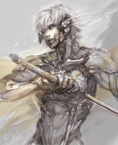 Raiden from Metal Gear Solid by Konami.
