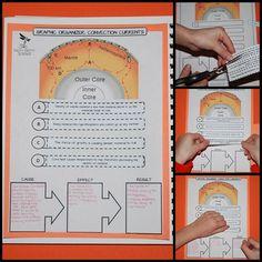 Students will learn about convection and the mantle in this activity found inside my Plate Tectonics: Earth Science Interactive Notebook.