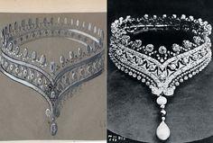 Boucheron - Grande collectionneuse de diamants, la Païva, célèbre courtisane russe, a fait copier par Boucheron cette collerette de 407 Diamants d'un poids total de 200 carats présentée à l'Exposition universelle de 1878.