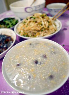 Chinese Rice Congee. www.china-memo.com