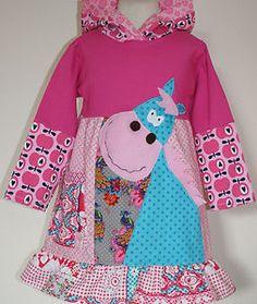 ROOS Bizzkids Farbenmix Herbst Kleid Pferd 98 neu K-INA   eBay