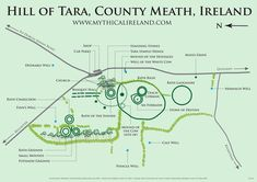 Map of the Hill of Tara