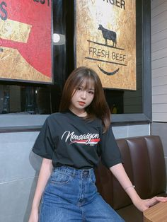 Korean Girl Fashion, Cool Girl Pictures, Cute Korean Girl, Aesthetic Clothes, Aesthetic Rooms, Indie Outfits, Cristiano Ronaldo, Daily Fashion, Cute Couples