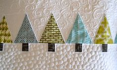 Great quilting idea for my runner