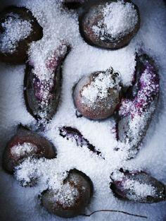 colour, texture, salt, vegetables. Anders Schønnemann, photographer. #photography #food #styling