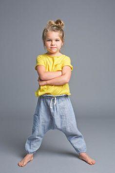 Love harem pants for little girls