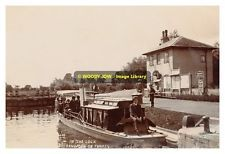 rp10457 - In The Lock , Sandford on Thames , Oxfordshire - photograph 6x4