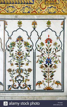 sikhism-gurudwara-showing-marble-inlay-panels-nanded-maharashtra-india-FFYK0K.jpg (866×1390)
