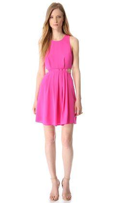 Charlie Jade Sleeveless Silk Dress