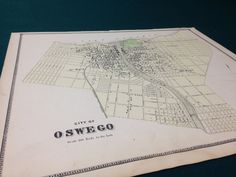 A personal favorite from my Etsy shop https://www.etsy.com/listing/226135676/oswego-new-york-1867-antique-map-from