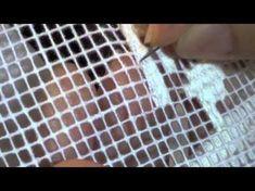 Bordados Da Beá - Crivo de Toledo - YouTube