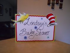 Handmade Dr Seuss yard sign