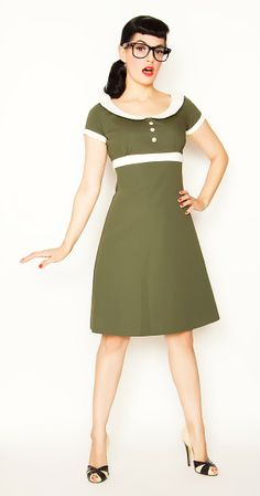 """Our Dolly dress was created to send updated, grown up baby dolls to rock this world! You'll have em singin """"Hello Dolly"""" in no time. $84.00"""