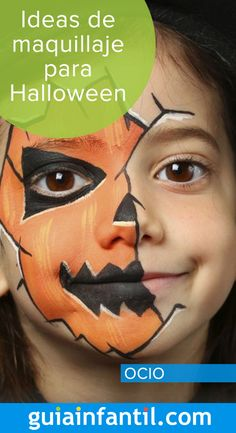 Practice these makeup ideas for Halloween and your child can disguise . Halloween 2019, Halloween Make Up, Halloween Face Makeup, Halloween Ideas, Ideas Maquillaje Halloween, Halloween Infantil, Face Painting Designs, Diy And Crafts, Makeup Ideas