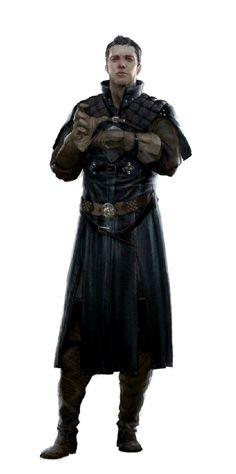 Male Human Investigator - Pathfinder PFRPG DND D&D d20 fantasy