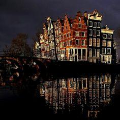 Sometimes I feel like I live inside a Tim Burton movie. ❤️ Amsterdam
