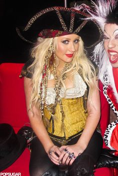 Pirate! Celebrity Halloween Costumes