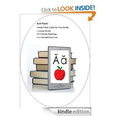 Turn your Kindle into a Flash Card Reader. With this simple, short text, learn how to design and upload flash cards to your Kindle eReader. Great for school aged students, college students, and adults. Want to learn a foreign language? Need to memorize Bible verses? Want to keep up with all of the cooking terms for the Foodie Channel? Use your Kindle! Learn now.