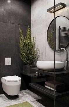 minimalist bathroom decoration idea