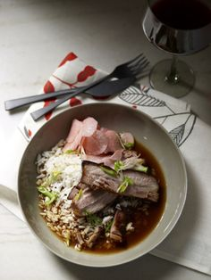 Braised Pork Belly with Pickled Radishes Recipe