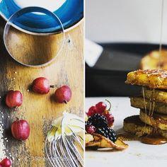 #quinoapancakes #quinoa #beeren #beerensalat #brombeeren #blaubeeren #360einfachlecker
