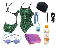 Swim meet by stray-arrow on Polyvore featuring polyvore, fashion, style, Disney, adidas Originals, Shorso, Garnier and clothing