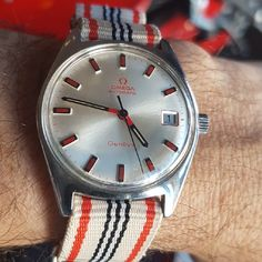 This very rare dial 1969 Omega Geneve can be yours for $1595. - You get the first crack at it before it hits the website. Please click the link below to see the details. https://watchestobuy.com/shop/omega-geneve-rare-red-dial/