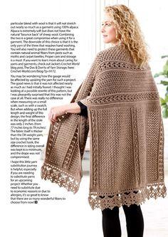 C2c Crochet, Crochet World, Crochet Borders, Crochet Shawl, Crochet Patterns, Poncho Shawl, Crochet Magazine, Crochet Fashion, Shawls And Wraps