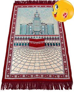 #home Muslim #Prayer Rug - Islamic Janamaz Sajadah Namaz Sajjadah Turkish Prayer Mat Carpet SIZE: Length: 48 Inches | Width: 30 Inches. Prayer (Salaat) is one of...