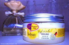 Bee Beauty Vanilla and Cheesecake Vücut Peelingi
