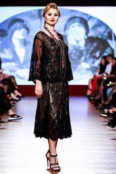 Maria, Regina Inimilor Fashion Show by Liza Panait Nasa, Lace Skirt, Fashion Show, Embroidery