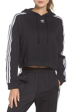 Shop a great selection of adidas Originals Cropped Hoodie - Fashion Women Activewear. Find new offer and Similar products for adidas Originals Cropped Hoodie - Fashion Women Activewear. Adidas Cropped Hoodie, Adidas Jacket, Adidas Originals Tops, Topshop, Nordstrom, Athletic Pants, Athletic Wear, Adidas Outfit, Pullover
