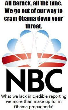 MEDIA BIAS....why I will NOT watch NBC, CBS, CNN, MSNBC, etc.  WATCH FOX!    VOTE OBAMA OUT NOV 6    VOTE FOR ROMNEY/RYAN!!!!!!!!!!!!!!!!!