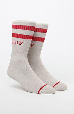 2 Stripe Crew Socks