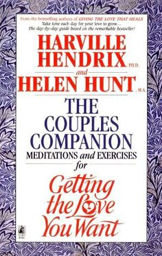 Couples Companion: Meditations & Exercises for Getting the Love You Want: A Workbook for Couples by Harville  PhD Hendrix, http://www.amazon.com/dp/0671868837/ref=cm_sw_r_pi_dp_8HO2qb0GSNDME